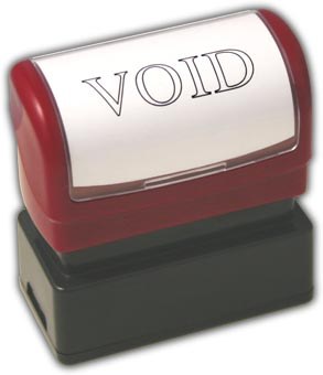 Void Stamp Example